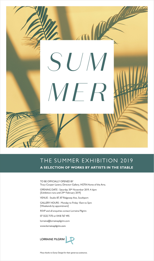 Lorraine Pilgrim presents The Summer Exhibition 2019